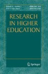 Front cover of Research in Higher Education
