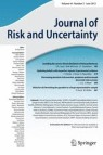 Front cover of Journal of Risk and Uncertainty