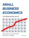 Front cover of Small Business Economics