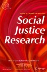Front cover of Social Justice Research