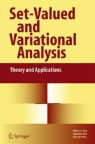Front cover of Set-Valued and Variational Analysis