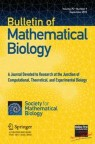 Front cover of Bulletin of Mathematical Biology
