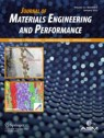 Front cover of Journal of Materials Engineering and Performance