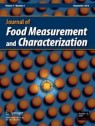 Front cover of Journal of Food Measurement and Characterization
