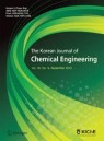 Front cover of Korean Journal of Chemical Engineering