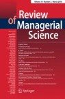 Front cover of Review of Managerial Science