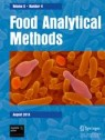 Front cover of Food Analytical Methods