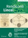Front cover of Rendiconti Lincei. Scienze Fisiche e Naturali