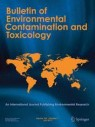 Front cover of Bulletin of Environmental Contamination and Toxicology