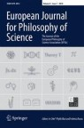 Front cover of European Journal for Philosophy of Science