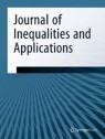 Front cover of Journal of Inequalities and Applications