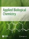 Front cover of Applied Biological Chemistry