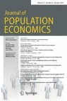 Front cover of Journal of Population Economics