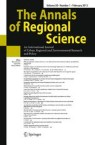 Front cover of The Annals of Regional Science