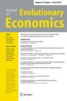 Front cover of Journal of Evolutionary Economics