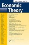 Front cover of Economic Theory
