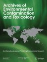 Front cover of Archives of Environmental Contamination and Toxicology