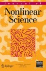 Front cover of Journal of Nonlinear Science