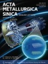 Front cover of Acta Metallurgica Sinica (English Letters)