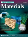 Front cover of Science China Materials