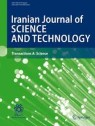 Front cover of Iranian Journal of Science and Technology, Transactions A: Science