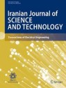 Front cover of Iranian Journal of Science and Technology, Transactions of Electrical Engineering
