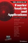 Front cover of Journal of Fourier Analysis and Applications