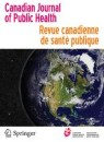 Front cover of Canadian Journal of Public Health