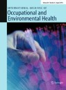 Front cover of International Archives of Occupational and Environmental Health